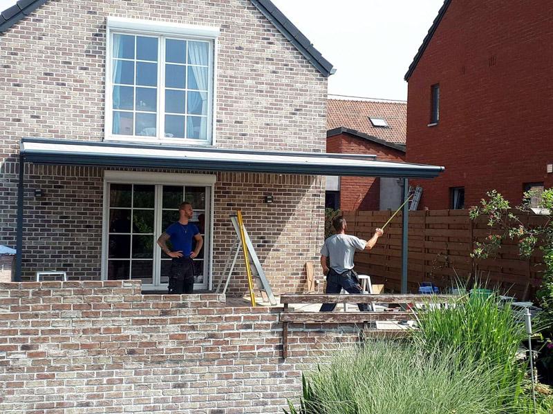 Isol&Plus - Installation d'une protection solaire (plaza viva WEINOR) et volets roulants