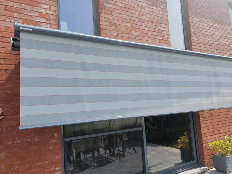 Isol&Plus - Installation de moustiquaires amovibles et banne solaire avec volant-plus (semina life WEINOR)
